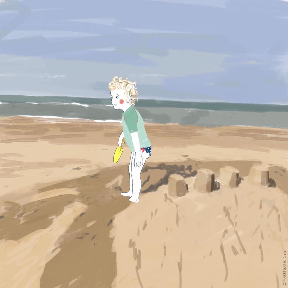 le coeur à marée haute